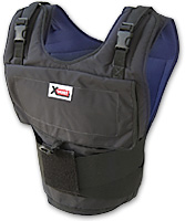 Xvest adjustable weighted vest